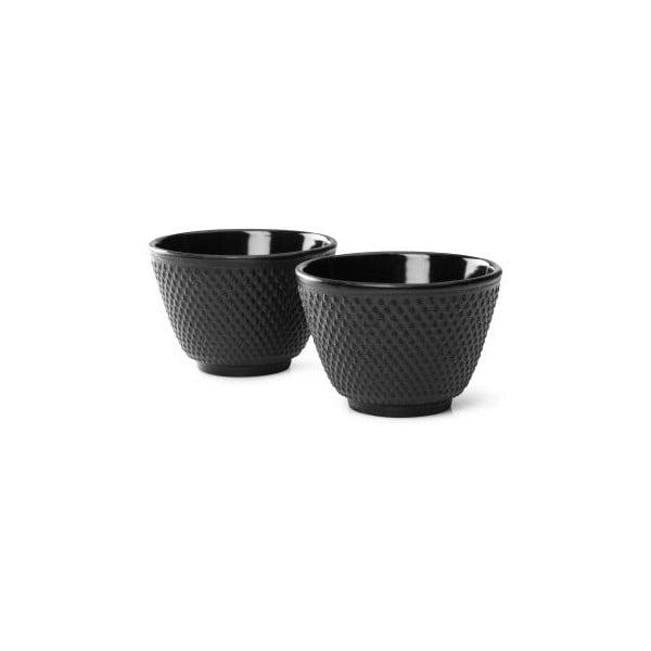 Sada 2 černýchlitinových hrnečků na čaj Bredemeijer Xilin, ⌀ 7,8 cm