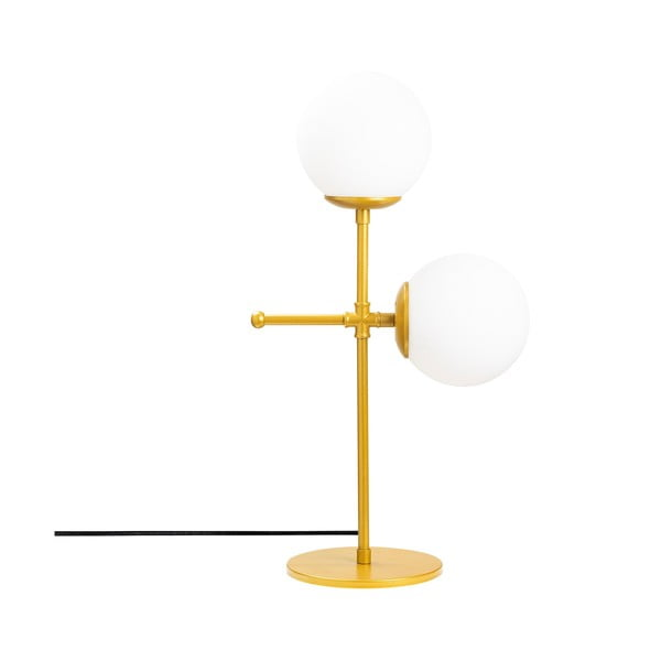 Mudoni fehér-aranyszín asztali lámpa - Opviq lights