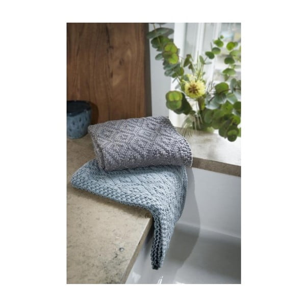 Sada 2 bavlněných ručníků A Simple Mess Elm Mirage Grey