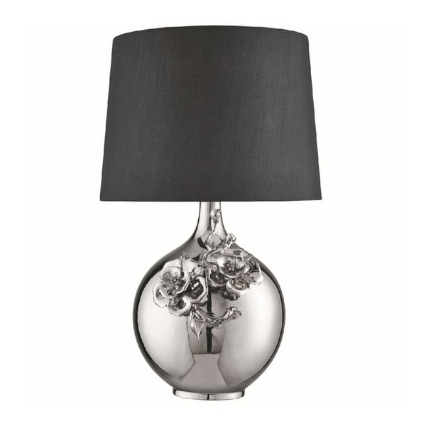 Stolní lampa Flower Chrome