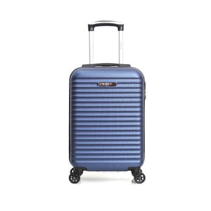 Modrý příruční kufr na kolečkách BluestarAtlanta, 32l