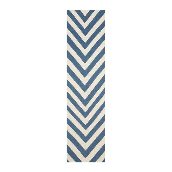 Vlněný koberec Serena, 76x182 cm
