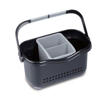 Suport pentru chiuvetă Addis Caddy, negru-gri imagine