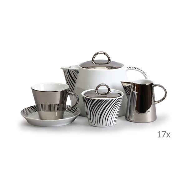 Set pentru ceai, din porțelan Thun Tom