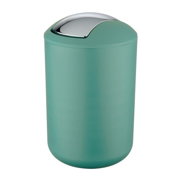Zelený odpadkový koš Wenko Brasil L, výška 31 cm