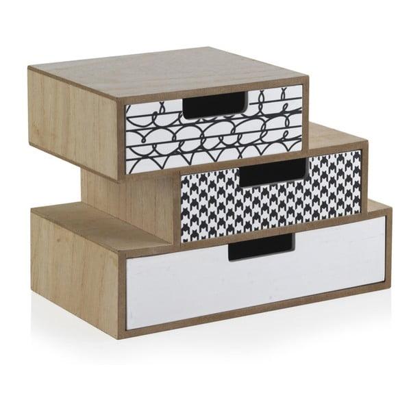 Úložný box se 3 zásuvkami Geese Munich, délka25cm