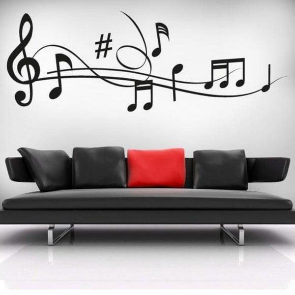 Music dekoratív falmatrica
