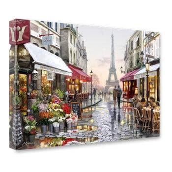 Tablou Styler Canvas Watercolor Paris I, 60 x 80 cm de la Styler