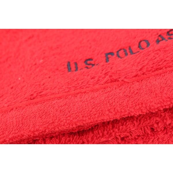 Ručník US Polo Hand Towel Red, 50x90 cm