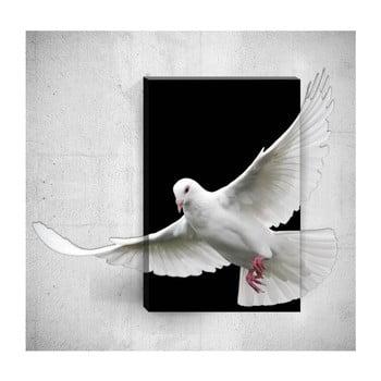 Tablou de perete 3D Mosticx Dove, 40 x 60 cm