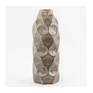 Keramická váza Stone, 42x16 cm