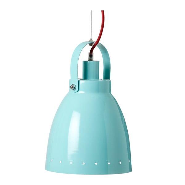 Modrá závěsná lampa Done by Deer