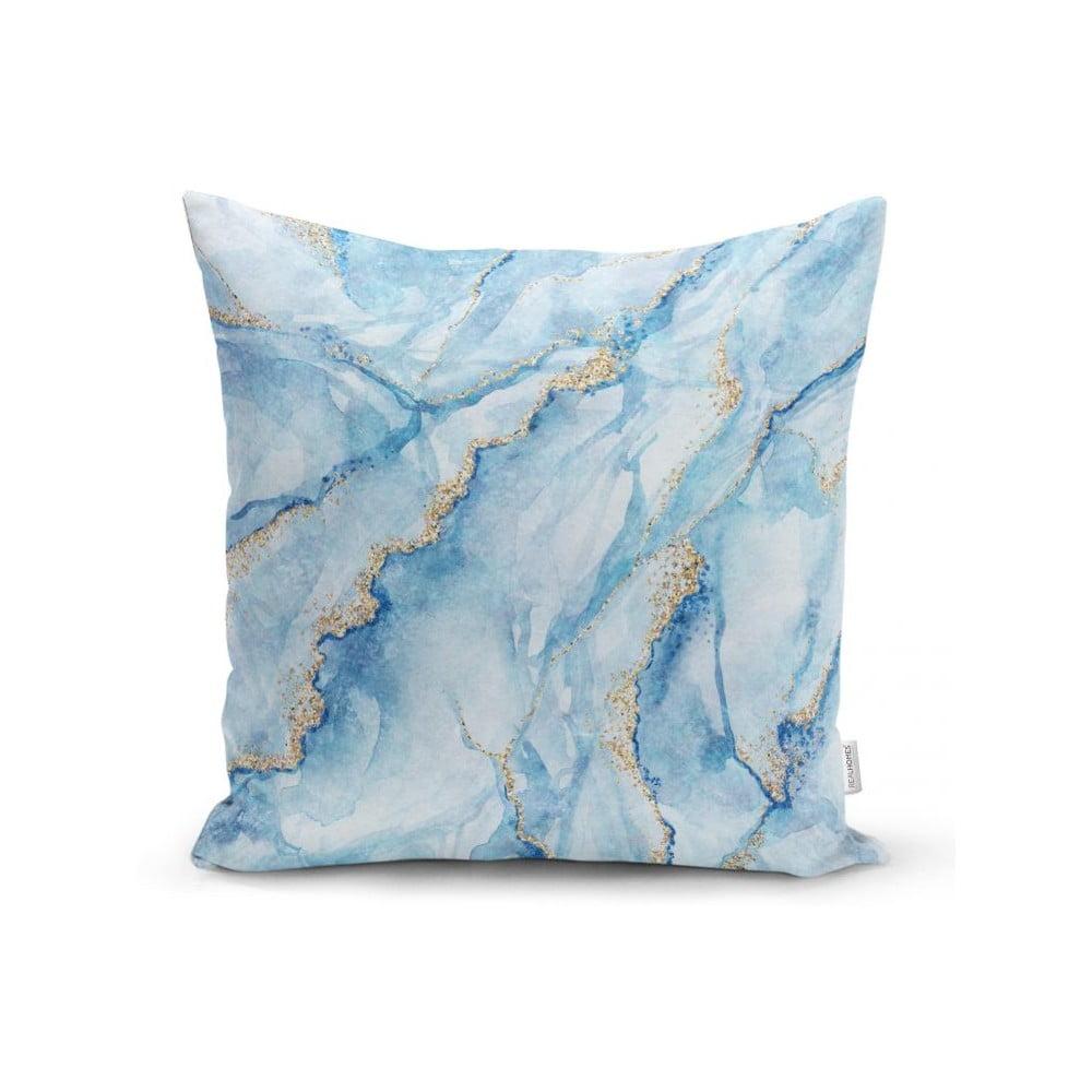 Povlak na polštář Minimalist Cushion Covers Aquatic Marble, 45 x 45 cm