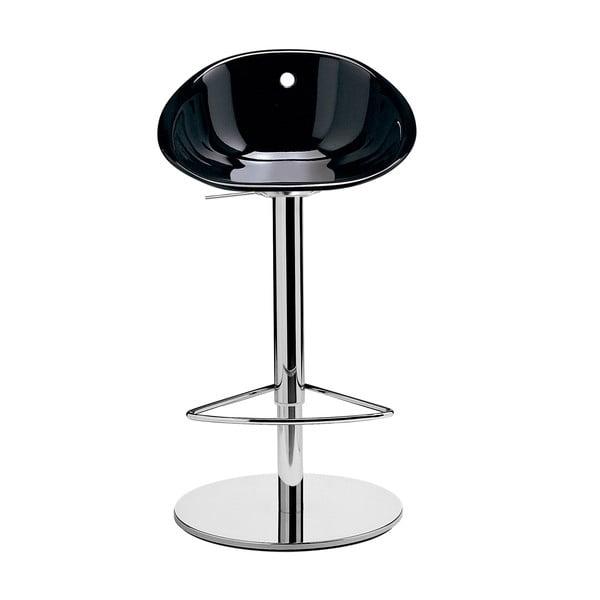 Černá barová židle Pedrali Gliss