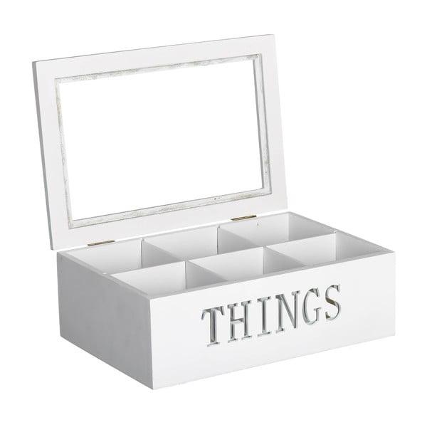 Krabička na čaj/šperkovnice Things