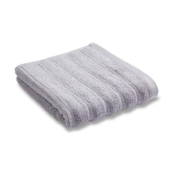 Sada 2 osušek Soft Ribbed Grey, 30x50 cm