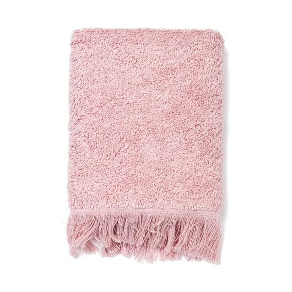 Sada 6 růžových bavlněných ručníků Casa Di Bassi Guest, 30 x 50 cm