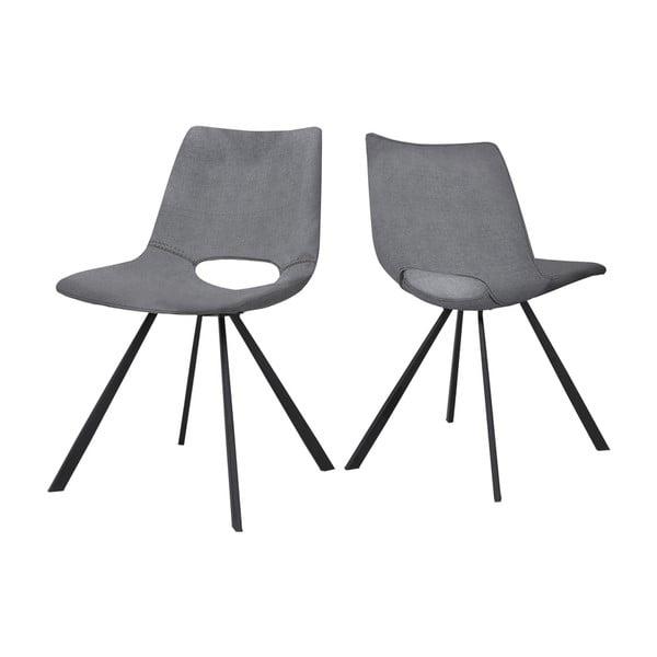 Šedá jídelní židle Canett Coronas