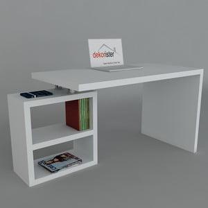 Pracovní stůl Swell White, 60x160x75 cm
