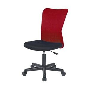 Červená kancelářská židle SOB Officer