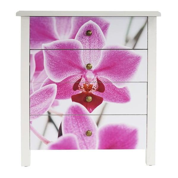Komoda Lucan Orchid, 66x60x33 cm