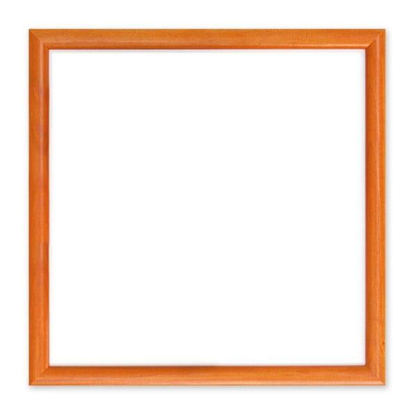 Magnetický obraz, oranžový, 30x30 cm
