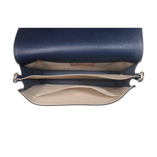 Kožená menší kabelka Moon Blue