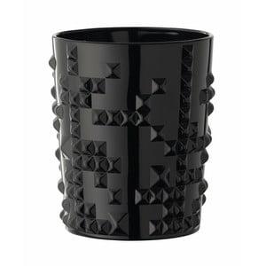 Černá sklenička z křišťálového skla Nachtmann Punk, 348ml