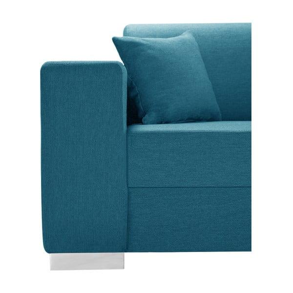 Světlá tyrkysová sedačka Interieur De Famille Paris Perle, pravý roh
