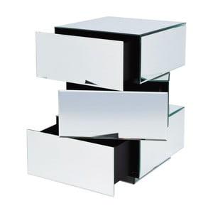 Zrcadlový stolek Kare Design Cubo