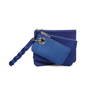 Set 3 portofele din piele ecologică Beverly Hills Polo Club Clara, albastru