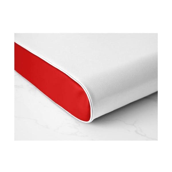 Zdravotní matrace pro psy Benji, bílá/červená