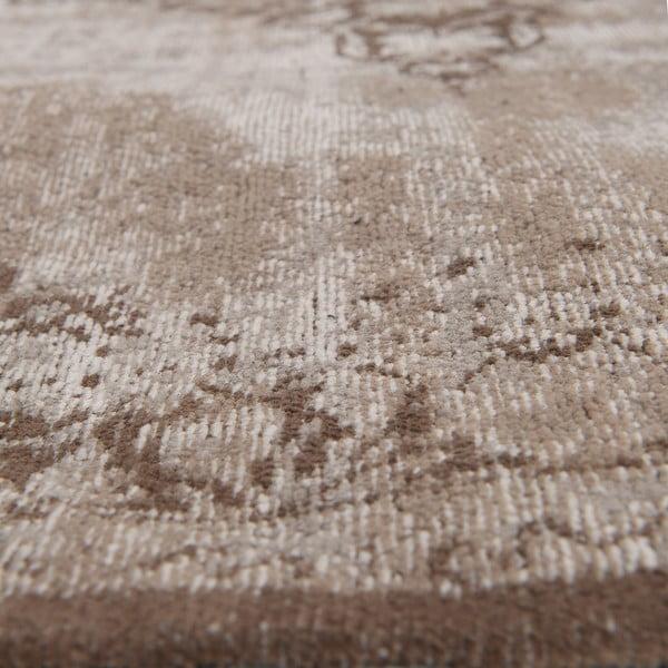 Koberec Chenille, 160x210 cm, hnědý