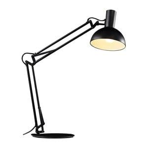 Lampa Arki se svěrákovým, nástěnným a stolním přichycením, černá