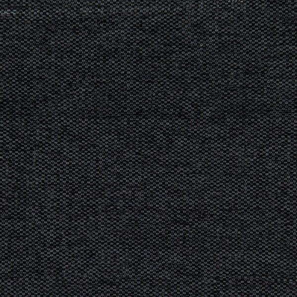 Černá postel s přírodními nohami Vivonita Windsor,180x200cm