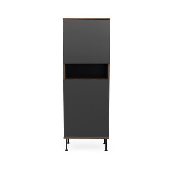 Antracitově šedá skříň Tenzo Daxx, 56x161cm