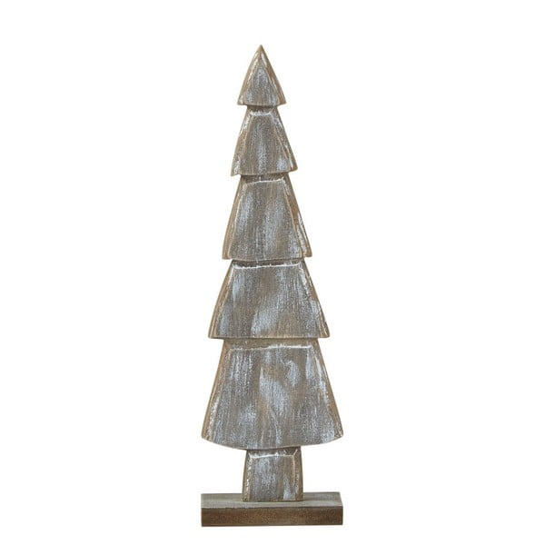 Decorațiune din lemn KJ Collection Tree, 9 x 30,4 cm