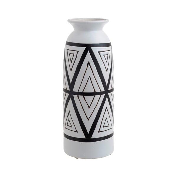 Biały wazon ceramiczny InArt Orient, ⌀ 13,5 cm