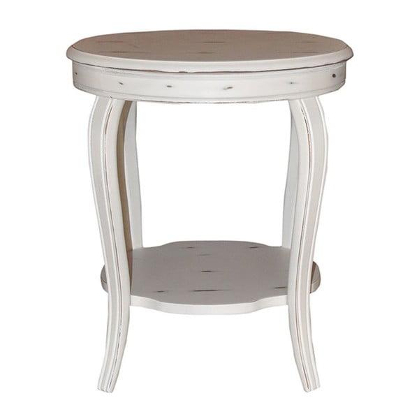 Odkládací stolek Behram Coffee, 52x52x57 cm