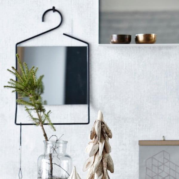 Závěsné zrcadlo Hang, černé