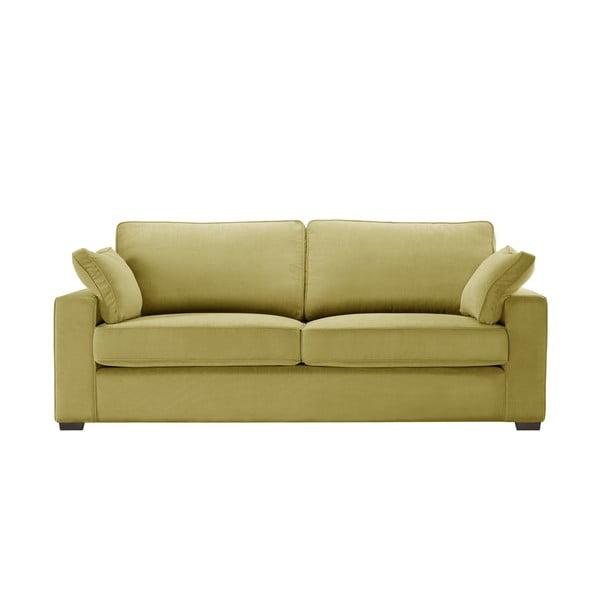 Žlutá třímístná pohovka Jalouse Maison Serena
