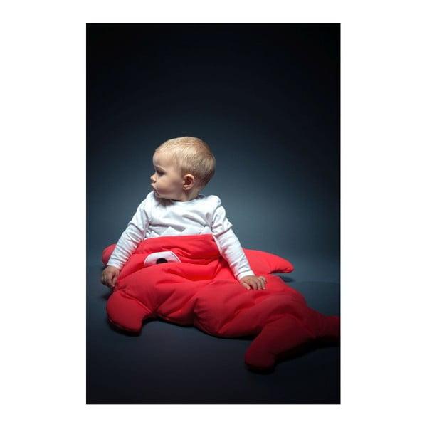Dětský spací vak Baby Bites Red with Polka Dots