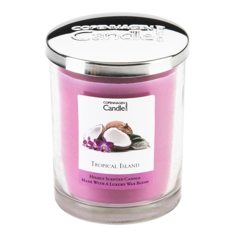 Aroma svíčka Copenhagen Candles Tropical Island, doba hoření 40 hodin