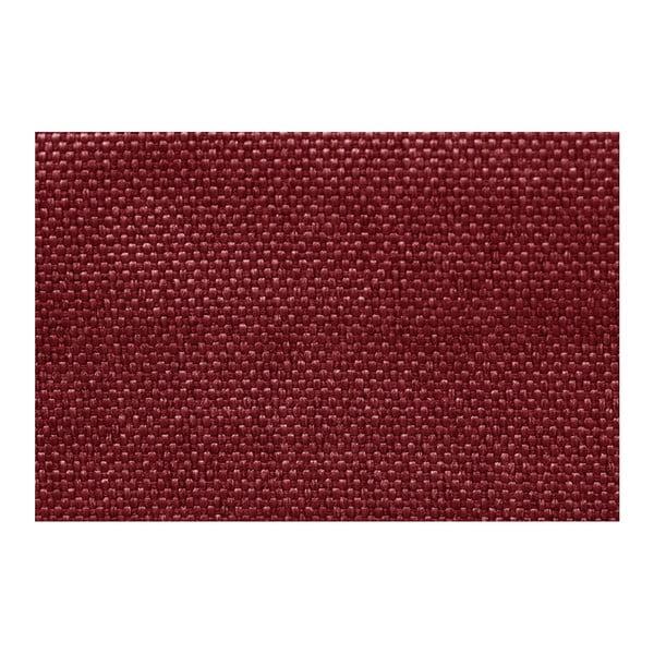 Colțar cu spațiu de depozitare Interieur De Famille Paris Perle, colț pe stânga, roșu