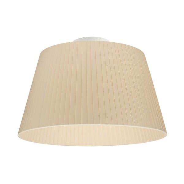 Krémové stropní svítidlo Sotto Luce KAMI CP,⌀36cm