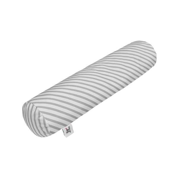 Pernă din bumbac în formă cilindrică pentru copii BELLAMY Stripes, 15 x 70 cm