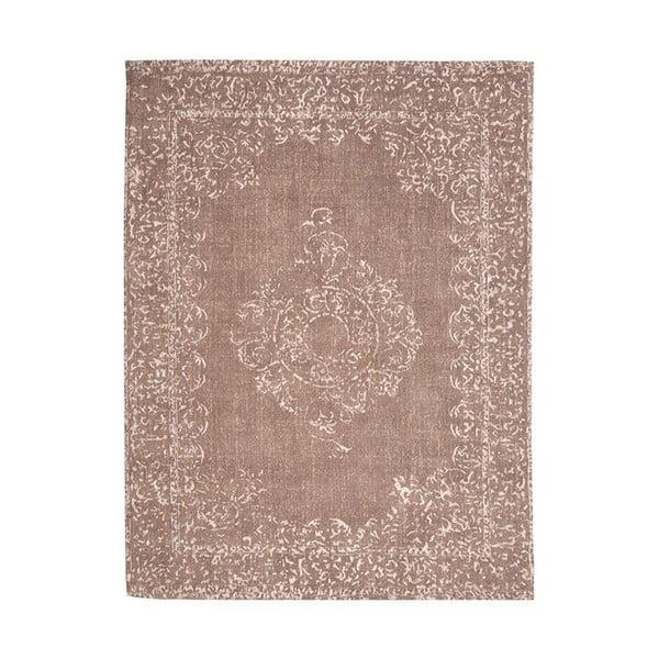 Hnědý bavlněný koberec LABEL51 Vintage, 230x160cm