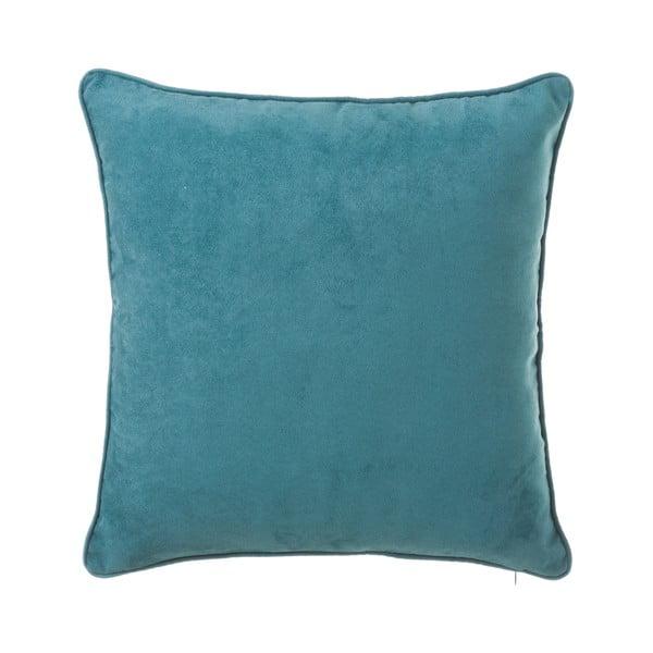 Modrý polštář Unimasa Loving, 45 x 45 cm