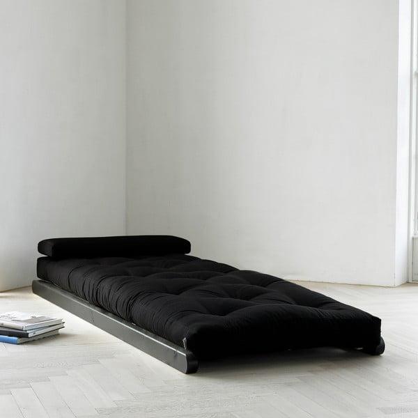 Lenoška Karup Figo, Wenge/Black, 70 cm