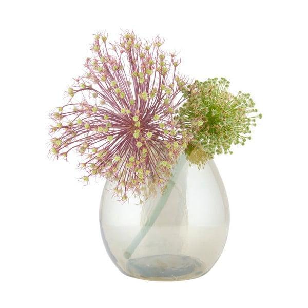 Vază din sticlă BePureHome Simple, ⌀ 20 cm, verde deschis